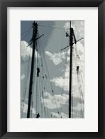 Framed Caribbean Vessel IV