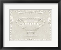 Framed Large Urn