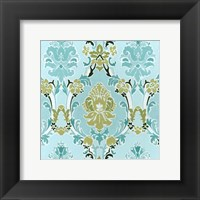 Cottage Patterns II Framed Print