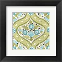 Cottage Patterns V Framed Print