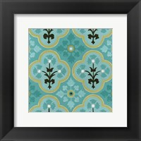 Cottage Patterns VI Framed Print