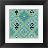 Cottage Patterns VI Framed Print