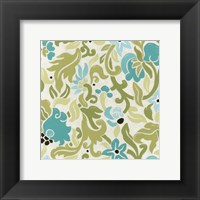 Cottage Patterns IX Framed Print