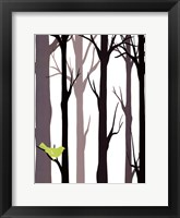 Framed Forest Silhouette I