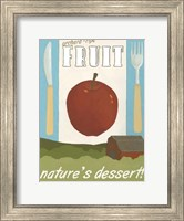 Framed Orchard-Ripe Fruit