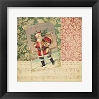 Framed Victorian Christmas IV