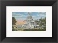 Framed Capitol Building, Washington, D.C.