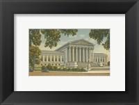 Framed Supreme Court Building, Wash, D.C.