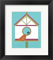 Framed Home Tweet Home II
