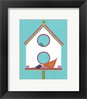 Framed Home Tweet Home III