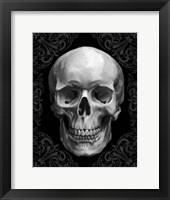 Framed Glam Skull