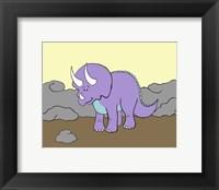 Framed Prehistoric Playtime II