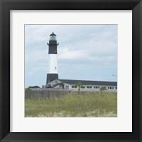 Framed Tybee Lighthouse I