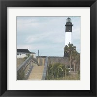 Framed Tybee Lighthouse II