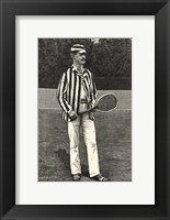 Framed Harper's Weekly Tennis I