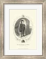 Framed Hamlet - oval