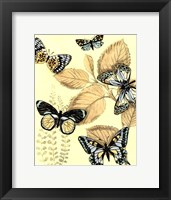 Spa Butterflies in Nature I Framed Print