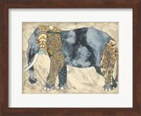 Framed Royal Elephant