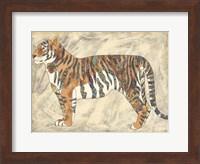 Framed Royal Tiger