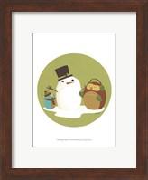 Framed Happy Owlidays I