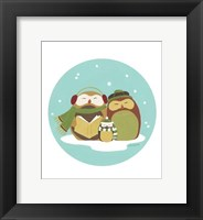 Happy Owlidays II Framed Print
