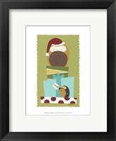 Happy Owlidays III Framed Print