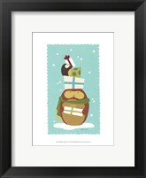 Happy Owlidays IV Framed Print