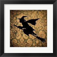 Framed Witch & Damask