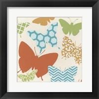 Butterfly Patterns II Framed Print