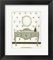 Parisian Bath II Framed Print