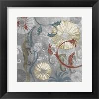 Framed Seahorse Collage I