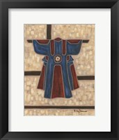 Framed Primary Kimono I