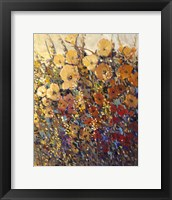 Framed Bright & Bold Flowers II