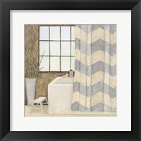 Framed Patterned Bath II