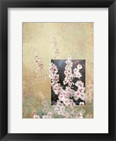 Framed Cherry Blossom Abstract III