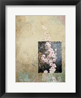 Framed Cherry Blossom Abstract IV