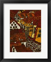 Framed Red Roofs II
