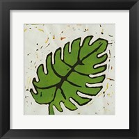 Framed Planta Green I