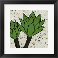 Framed Planta Green VII