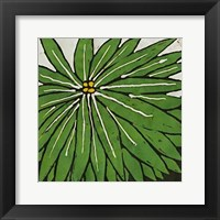 Framed Planta Green VIII