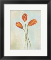 Framed Painted Tulips II