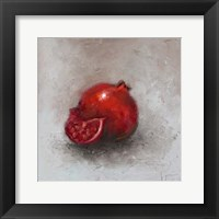Framed Painted Fruit I