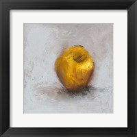 Framed Painted Fruit III