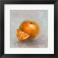 Framed Painted Fruit IV