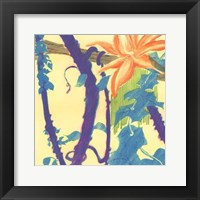 Framed Jungle Monotype I