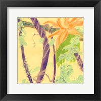 Framed Jungle Monotype V