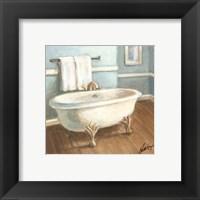Porcelain Bath IV Framed Print