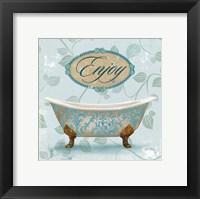 Framed Enjoy Bath