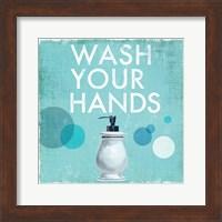 Framed Wash your Hands