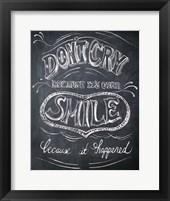 Framed Smile - Mini